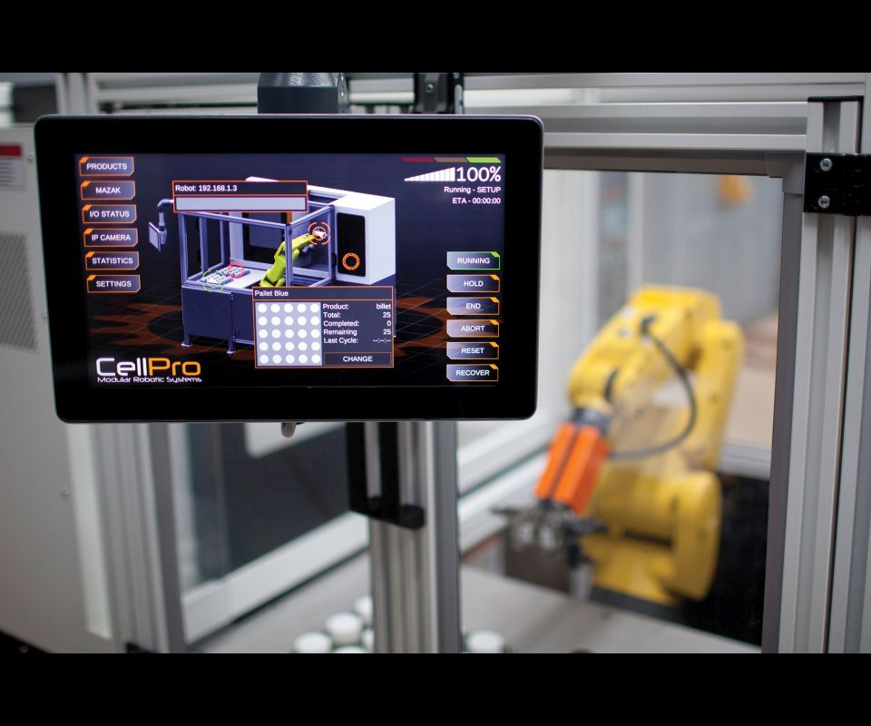 CellPro Modular Machine Tool Tending System