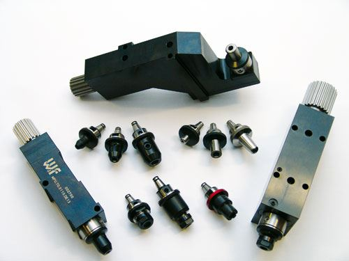 Live toolholders for Swiss-type machines