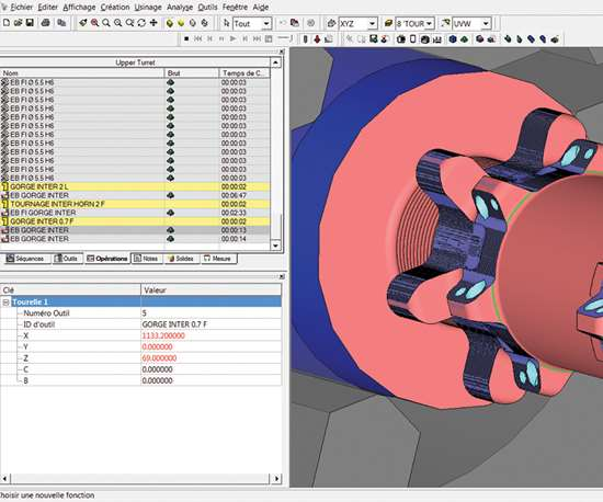 This screenshot shows programming of a maintenance control gage for Airbus (inset in upper right shows actual part).