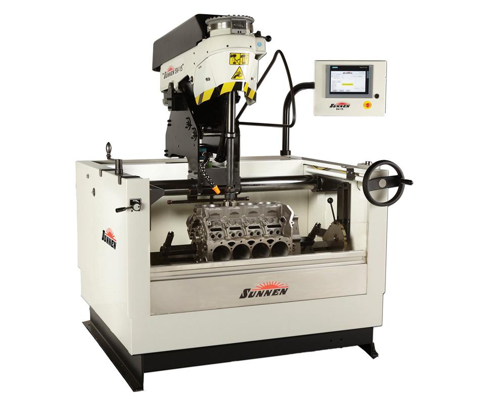 Sunnen's SV-15 honing machine