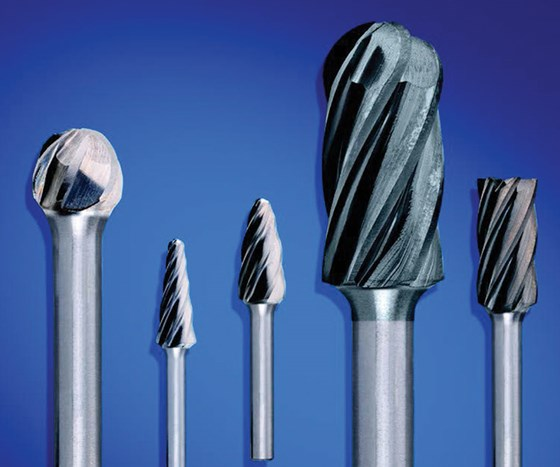 The line of ALU/NF Cut carbide burrs