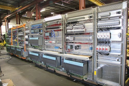 CNC on racks
