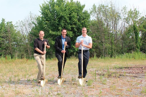 Morris Great Lakes broke ground for a new headquarters in Cranberry Township, Penn., on July 3.