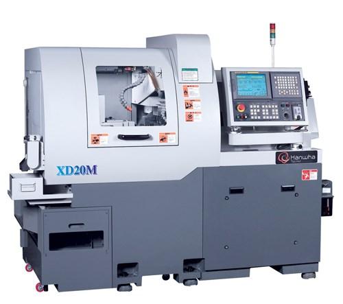 seven-axis model XD20M CNC Swiss-type lathe