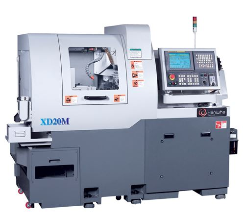 seven-axis model XD20M CNC Swiss-type lathe