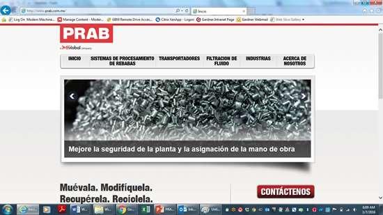 PRAB lanza sitio web en espanol para el mercado mexicano
