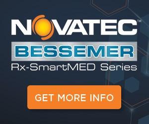 Novatec Bessemer Rx-SmartMED Vacuum Tanks Series