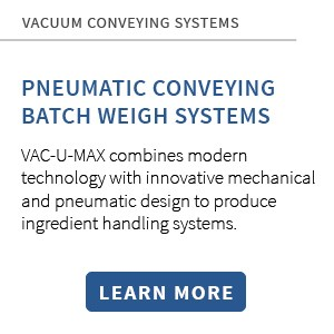 VAC-U-MAX Pneumatic Batch Weight Systems