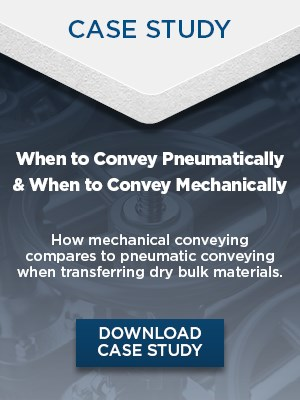 Case Study: Conveying pneumatically versus conveying mechanically