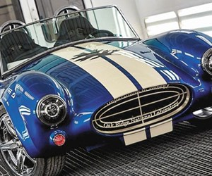 3D-printed Shelby Cobra