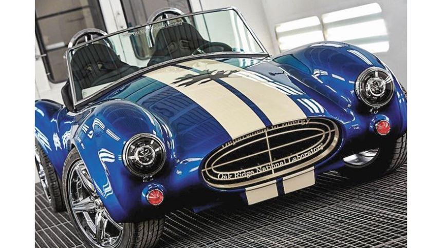 3D-printed Shelby Cobra