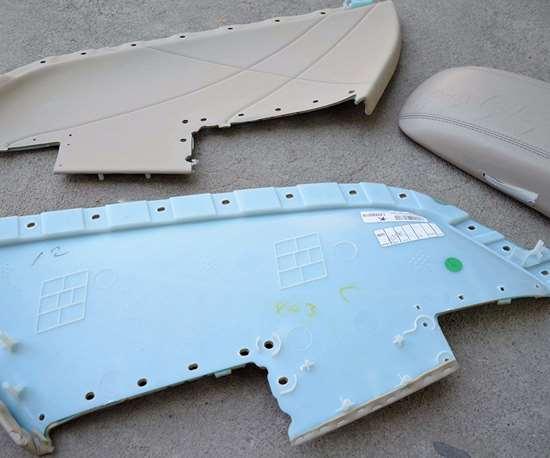 Partes plásticas automotrices.