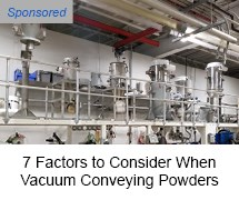 VAC-U-MAX vacuum conveying of powders