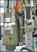 PUR mixing and casting head