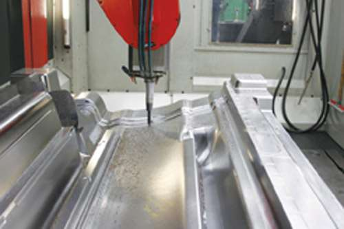 high speed five axis paragon mills