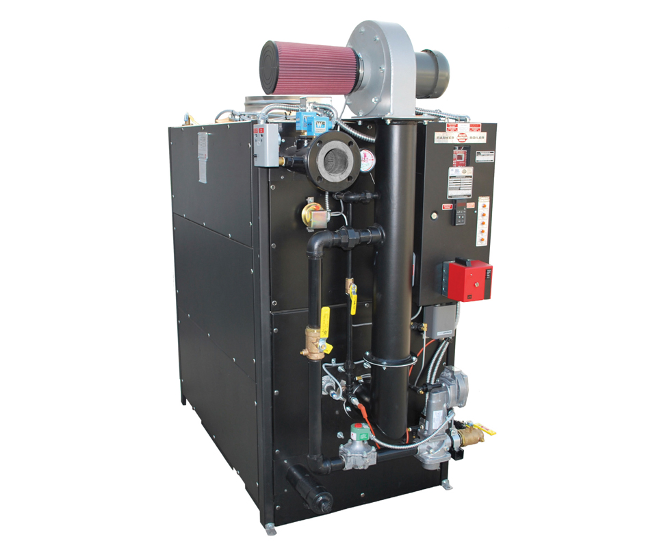 Parker Boiler Co. Showroom : Products Finishing