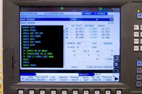 part program screen