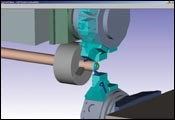 PartMaker allows EPC to simulate the machining process