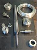 Parts the shop has run CNC lathe