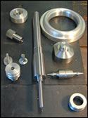 Parts the shop has run CNC lathe