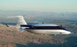 Piaggio Aero's Avanti EVO twin turboprop aircraft