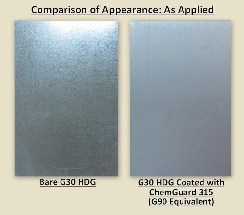 G30 with, without CG315 coating