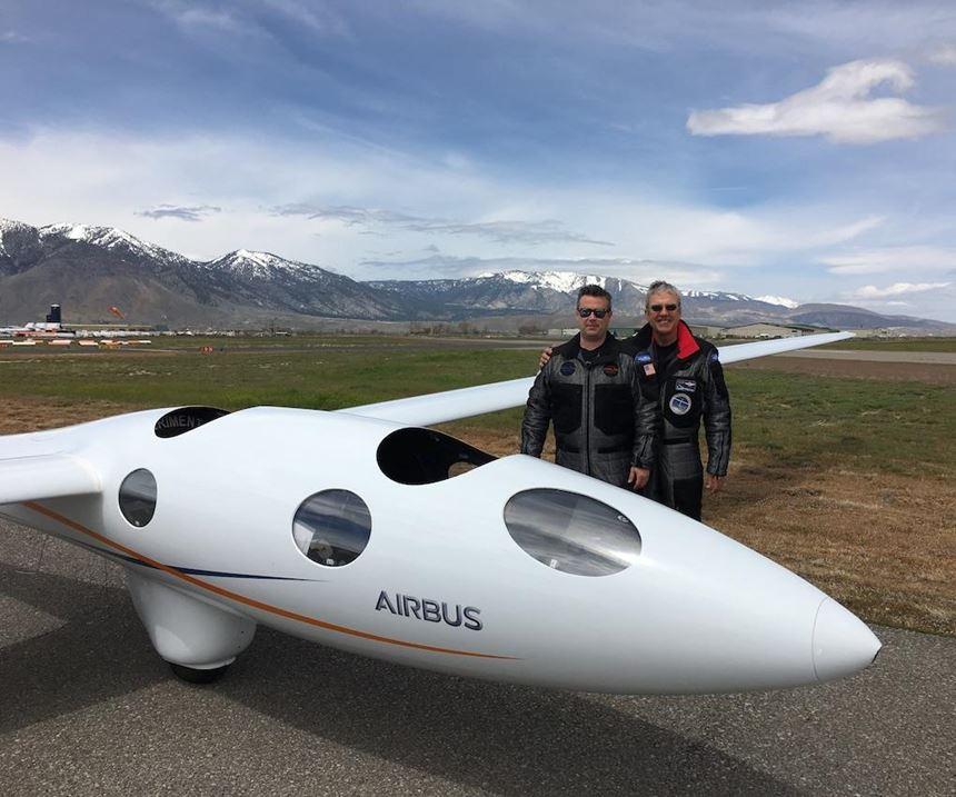 Perlan Project Pilots Jim Payne and Miguel Iturmend