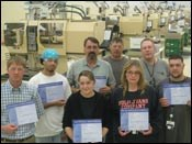 Plastikos wants all its employees to be certified