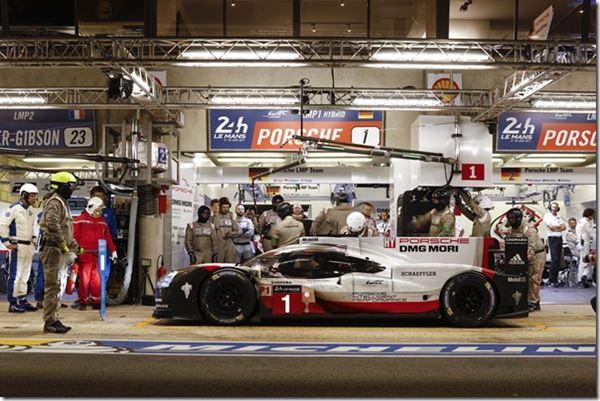 Porsche LMP Suppliers Praised image
