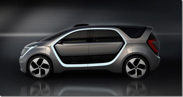 Chrysler Portal Concept exterior, side-view