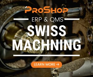 ProShop Swiss Machining