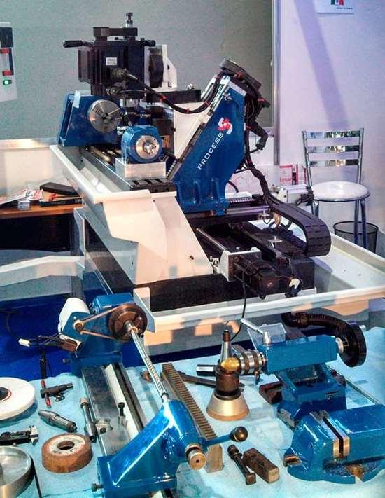 Crean maquina para mecanizado multioperativo en Mexico