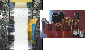 Produced on trunnion machines