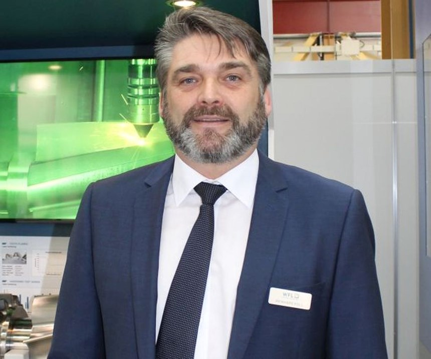 Reinhard Koll, head of application and project engineering, WFL Millturn