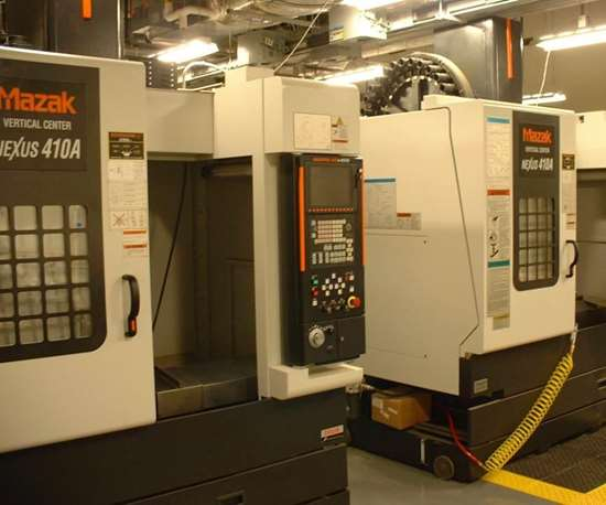 networked CNC VMCs