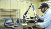 Quantum measuring arm