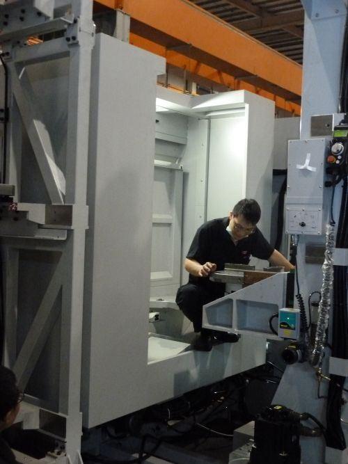 machining centers at Quaser Machine Tools Inc.