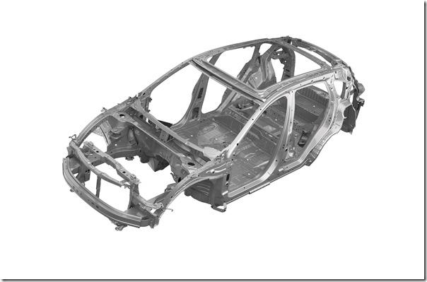 2019 Acura RDX Body-In-White