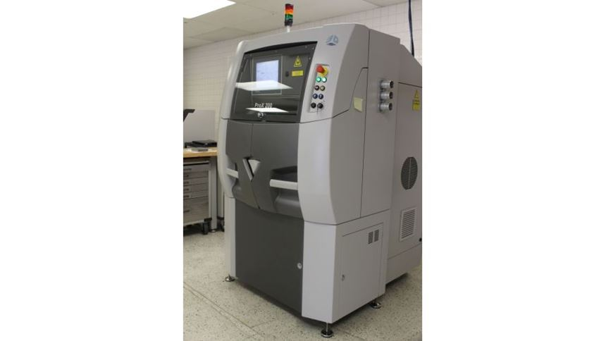 3D Systems ProX 200 Direct Metal Printing machine