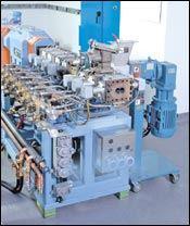 Refitting a 40-mm twin-screw lab extruder