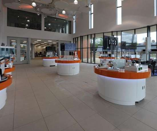 Renishaw facility