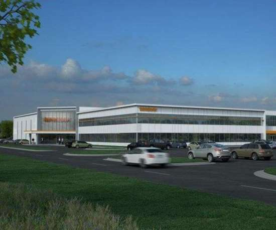 Renishaw facility drawing