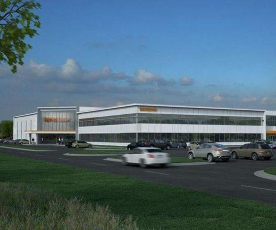 Renishaw facility drawing