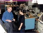 Rexnord grinding superintendent Skip Bahr