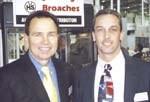 Robert Savage (left) and Tony Bresciano