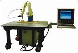Robot milling system