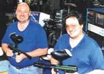 Roger (left) and Robin Schrager