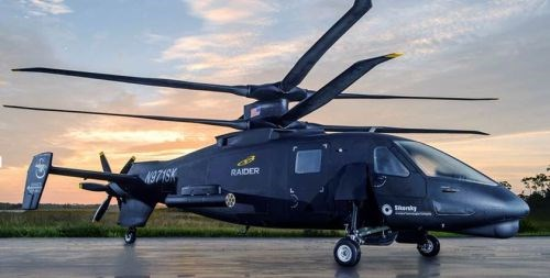 Sikorsky unveils new S-97 RAIDER
