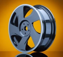 SABIC and Kringlan Composites carbon thermoplastic composite wheel