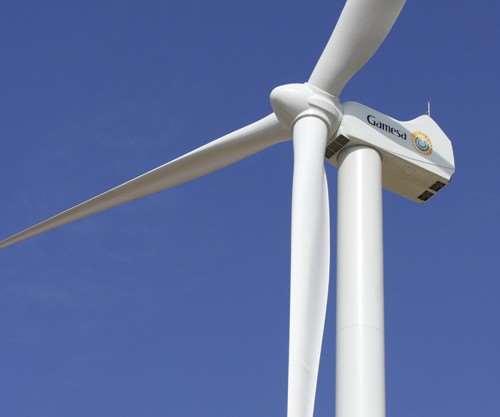 G128 wind turbine, wind energy